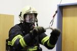 Výcvik s dýchací technikou hasičů z Libereckého kraje na polygonu v Jablonci nad Nisou