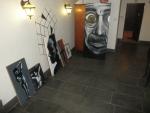 Zahájení výstavy Josefa Karla v Cafe Bar Hlavolam