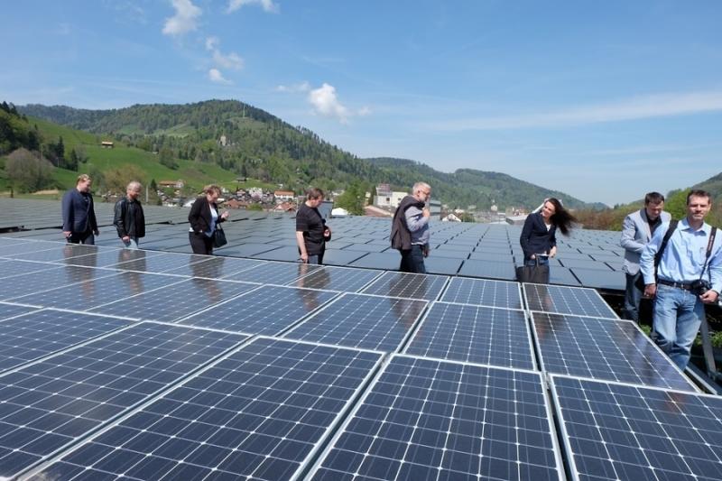 Liberecká delegace navštívila projekt podpory výroby energie a energetické efektivity v Toggenburgu