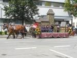 Mladá dechovka hrála v Bavorsku