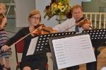 Koncert smyčcového kvarteta Ad libitum a malé houslistky Aničky Klokočníkové v jabloneckém kostele sv. Anny