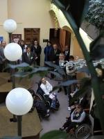 Sněženka po letech opět vystavuje v parlamentu