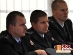 OBRAZEM: Slavnostní předání medailí nejlepším policistům I.