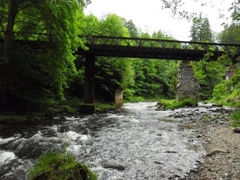 Most přes řeku Kamenici u Návarova<br />Autor: Archív KÚ Libereckého kraje