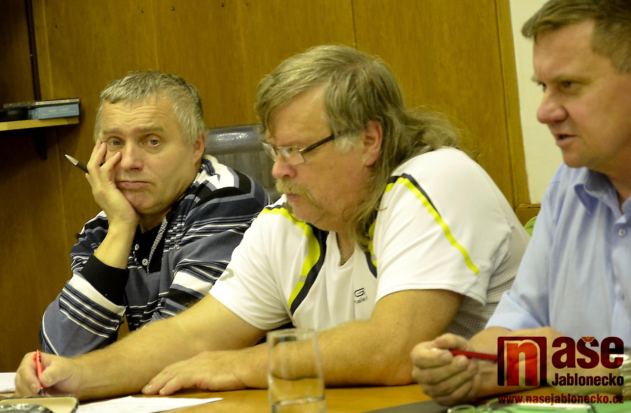 Václav Kulas, Pavel Kunce a Jiří Řešátko.