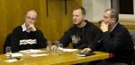 Zastupitelé města Lučany nad Nisou zleva: Zdeněk Zoubek, Pavel Morávek a Petr Štěpánek.