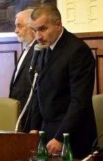První slovo nového starosty Vladimíra Vyhnálka.