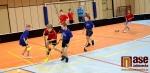 Vánoční turnaj malých florbalistů pořádal 1. FbK Jablonec.