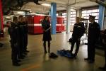 Předání záchranné sítě pro koně, kterou hasičům darovala veterinářka Lýdia Čačková
