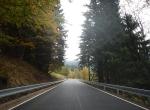 Opravená silnice Horní Mísečky