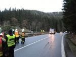 Nehoda auta v Bratříkově