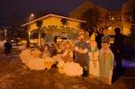 Rozsvícení stromku v Rychnově provázel zpěv dětí i kapely Nautica
