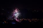 Obrazem: Novoroční ohňostroj na přehradě a v Kokoníně
