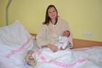 Lukáš Skála s maminkou