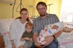 Rodiny Starých s holčičkou Dominikou