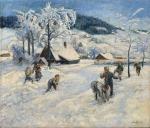 Fread Hartig - Zima v Jizerských horách