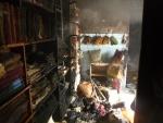 Požár prodejny a skladu s textilním zbožím v tanvaldské ulici Krkonošská