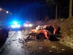 Vážná dopravní nehoda blízko hraničního přechodu v Harrachově
