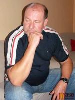 Trenér Vlků Ivo Svatoš