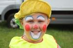 Cirkusové představení dětí ze ZŠ Plavy pod vedením cirkusu Happy Kids