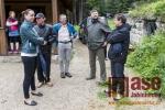 Slavnostní předání obnoveného areálu Protržené přehrady veřejnosti