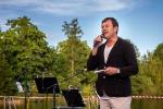 Koncert houslového virtuoza Jaroslava Svěceného na molu jablonecké přehrady
