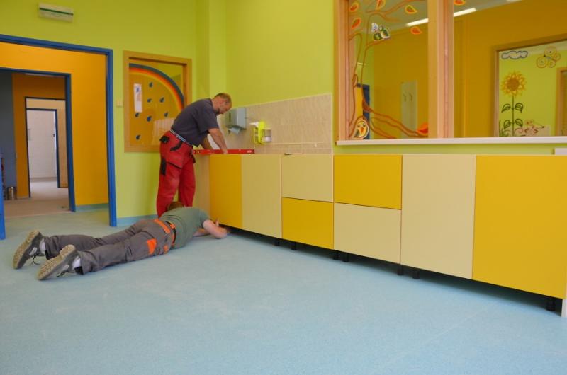 Rekonstrukce lůžkové části dětského oddělení jablonecké nemocnice
