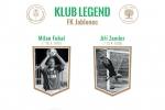 Noví členové klubu legend Milan Fukal a Jiří Zemler