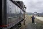 Akce Pára patří minulosti na jabloneckém nádraží