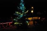 Jindřichovští v sobotu rozsvítili vánoční stromek