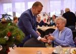 Náměstek primátora Pavel Svoboda na předvánoční návštěvě v seniorských klubech