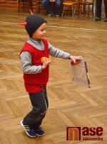 Mezi malé atlety v jistebské sokolovně přišel Mikuláš