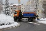 Technické služby odklízejí sníh z jabloneckých silnic