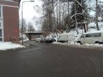 Parkování v ulici Dlouhá v Jablonc