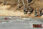 Jablonečtí hasiči opět trénovali záchranu tonoucího
