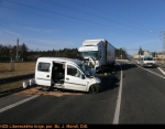 Silnice mezi Jabloncem a Libercem byla několik hodin uzavřená, při nehodě zemřel mladý muž