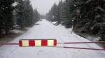 Aktuální stav k 18. 4. 2017 silnice II/290 kolem vodní nádrže Souš