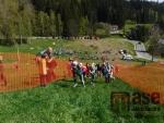 Běh do vrchu v rámci seriálu O pohár běžce Tanvaldu