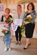 Vyhlášení soutěže Žena regionu v liberecké Kavárně Pošta