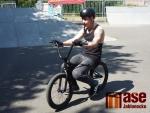 Exhibice Back on the Bike ve skateparku Jablonec nad Nisou