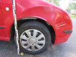V jablonecké ulici Palackého se střetla dvě vozidla