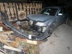 Nehoda v Desné v ulici Hutní