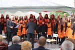 Koncert na nádvoří libereckého hospice