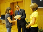 Na kraji ocenili i čtyři studentky z Jablonecka