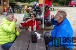 1. ročník hvězdicového Pochodu proti proudu, jehož cílem byl Areál Protržené přehrady na Bílé Desné