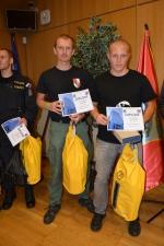 Nejlepší dvojice policistů Stanislav Bárta a Petr Valášek