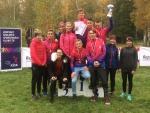 Závodníci Gymnázia Dr. Antona Randy Jablonec na mistrovství republiky v přespolním běhu