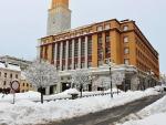 Zima v Jablonci - leden 2017