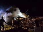 Hasiči zasahovali 17. listopadu u devíti požárů, hořela i Šámalova chata
