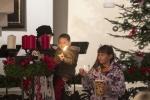 První adventní svíce